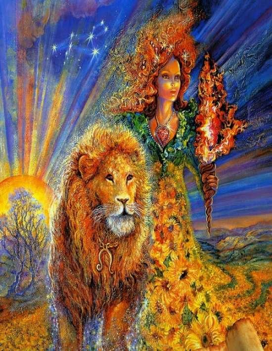 Поздравление с днем рождения женщине львице картинки